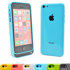 2200 mAh External Portable Backup Battery Case Cover for iPhone 5C, 5 and 5S