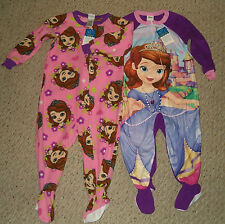 NWT Disney Sofia The First Footed Blanket Sleeper Pajamas  3T or 4T U Choose
