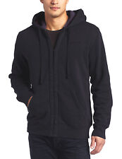 New Timberland Men's Sherpa-Lined Full Zip Hoodie Navy Size M, L, XL, 2XL