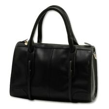 Womens Leather Shoulder Messager Bags Brand Designer Handbags With Black Brwon