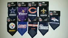 Officially Licensed NFL Dog Bandanas / Pet Scarves -Size SMALL by Hunter PetGear