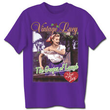 I LOVE LUCY Vintage Grapes of Laugh T-Shirt **NEW Lucille Ball  tv show comedy