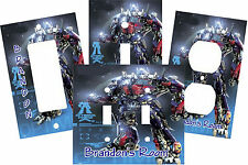 PERSONALIZED TRANSFORMER OPTIMUS PRIME LIGHT SWITCH PLATE COVER