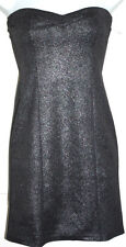 New Ladies Tally Weijl Silver Tube Bandeau Bodycon Party Dress - 6,8,10 & 14