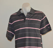 Champion Mens Polo T Shirt - STRIPE - SIZES S,M & L - NEW
