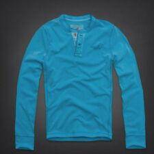 BRAND NEW GENUINE HOLLISTER TECOLOTE CANYON HENLEY LB. UK SELLER. FAST DISPATCH