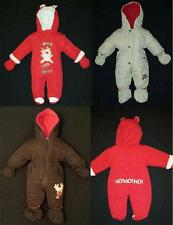 SALE** New Pram Snowsuit Boy Girl Baby Christmas Padded All in One NB  0 3 6 9