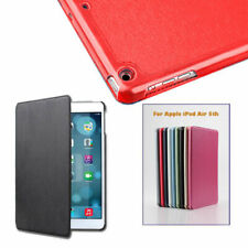 Texture Look Shinning Magnetic Leather Smart Cover Case for Apple iPad Air 5th 5