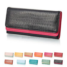 11 color Card Coin Long Lady Purse womens Clutch Trifold Wallet  Gift