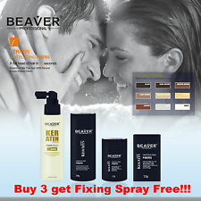 HAIR THICKENING BUILDING FIBERS 28G HAIR LOSS CONCEALER HOLDING SPRAY THICKENER