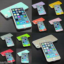 Brand Lot Colour Screen Protector Flim Guard skin case For Apple iPhone Series