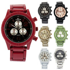 Gents ladies Latest Fashion Casual Wear Stainless Steel Analogue Unisex Watch