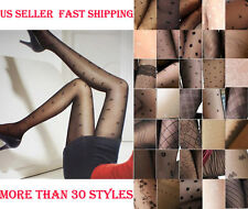 Sexy Fanshion Cute Ladies Sheer Multiple Pattern Pantyhose Stockings-30 Styles