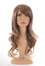 Fearne Fashion Hairstyle Wig | Long Wavy Sweeping Fringe Wig | Natural Shades