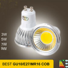 GU10/E27/MR16 3W 5W 7W 9W COB LED Light Spotlight Bulb 86-265V Halogen Lamp