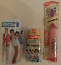 One Direction Dental Care Set - Cup, Toothpaste, Toothbrush - Manual or Powered