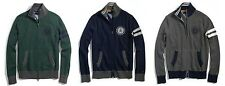 ..TOMMY HILFIGER..FULL ZIP MOCK NECK FLAG SWEATER-FOR HANDSOME MEN!