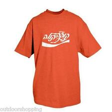 Red/White ISRAELI COCA-COLA IMPRINTED 1 SIDED T-SHIRT - Short Sleeve Tee