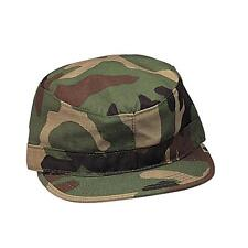 Kids Military Hat - Fatigue Cap, Woodland Camo by Rothco