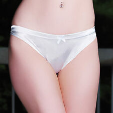 White Satin Super Stong Gaff For Crossdressing Men - Trans Hiding, Tucking Panty