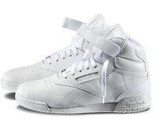 Reebok Classic Ex-O-Fit Hi Leather Men Shoes V44739 White Sz8-13 Fast Ship