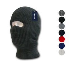 1 Dozen DECKY Ski Face Mask FaceMask 1 Hole Balaclava Beanies Knit Wholesale Lot