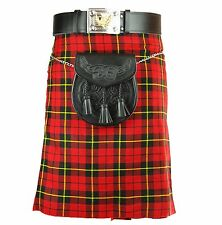 Mens Kilt New Wallace 5 Yard 10oz Scottish Highland Formal & Everyday 30-48