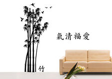 Wall Tattoo Chinese Bamboo Tree Adhesive Wall Picture Car Sticker WBM06