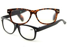Men & Women Classic Retro Reading Glasses Black & Tortoise