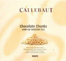 Callebaut bakestable chocolate chunks chips pieces -white chocolate