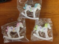 Rocking Horse Carousel Cake Cupcake Topper Baby Shower Decoration