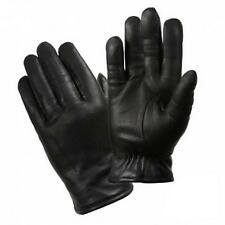 Mens Winter Gloves - Leather Police Gloves, Black by Rothco