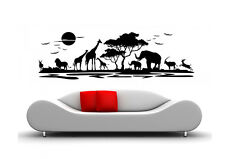 Wall Tattoo Africa Animals Wall Sticker waf06