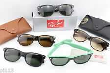 Ray-Ban NEW WAYFARER RB2132 Sunglasses all colours sizes AUTHENTIC Made In Italy
