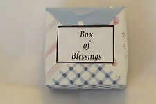 Box of Blessing* ~ Christening's,New Baby,Bereavement,Unique Gift *