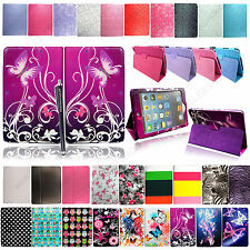 For Apple Ipad 2 Ipad 3 New Ipad 4 Magnetic Leather Case Cover + Guard + Stylus