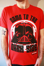 Angry Birds Star Wars T shirt Dark Side Force S - 3XL Red Game Ap Cool Fun Rovio