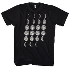 Geek Moon Phases - Science - Physics - Nerd T-Shirt Chemistry Physics Biolo