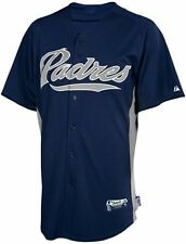 San Diego Padres MLB Majestic Batting Practice Jersey Authentic Adult Sizes
