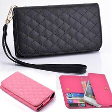 For iPhone 4 4S 5S Samsung S2 S3 S4 Multipurpose Card Coin Wallet Case Purse