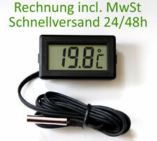 Thermometer digital LCD -40°+110°C Temperatur Anzeige Messer Termometer Siru