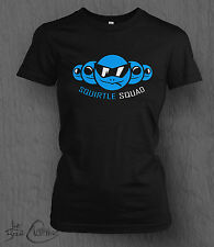 Pokemon T-Shirt Squirtle Squad Tee. LADY FIT Nintendo, Pikachu, Wii U, 3DS