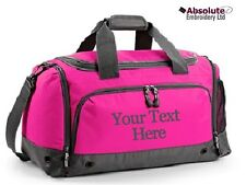 Personalised Sports Training Holdall Gym Kit Bag - Your Text