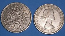 TWO SHILLING ELIZABETH II 1953-1967 DATE OF YOUR CHOICE FROM £1.25 FREE UK P&P