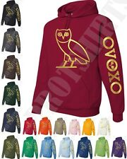 OVO DRAKE gold NEW OWL OVOXO Octobers very own weeknd hoodie, sweetshirt tishirt