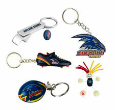 Adelaide Crows AFL Footy Keyring - Assorted