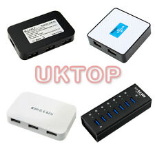 7 ports USB 3.0 Hub 4 Ports 5Gbps PC External Extension Adapter+usb cable in uk