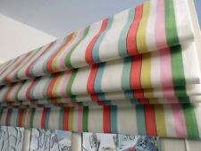 unlined ROMAN BLIND  made in CATH KIDSTON DECK STRIPE MTM up to 140cm wide