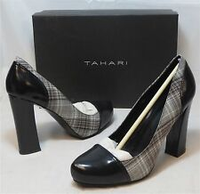 TAHARI Women's Ally Pump - Black/Multi - Sz 8,8.5 Only - NIB - MSRP $109