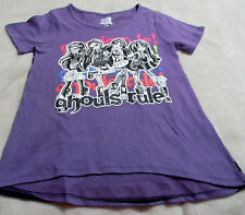 Monster High Ghouls Rule Purple With Ghouls on Front Embellished With Glitter